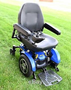 Power wheelchair Jazzy Elite HD workhorse chair built to handle up to 450 pounds