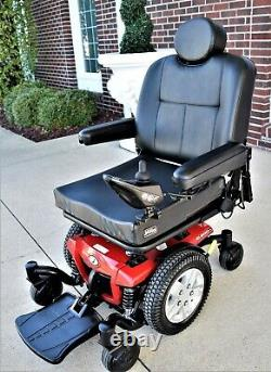 Power wheelchair Jazzy J 600 ES mint big boy chair 14 inch drive wheels 20''seat