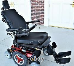 Power wheelchair Permobil M300 loaded tilt recline leg lifts lays flat pristine