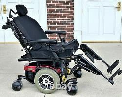 Power wheelchair Quantum 614 hd tilt -recline -feet 26 inch seat very nice