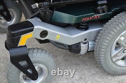 Power wheelchair Quantum Rival great heavy duty frame rear wheel drive nice