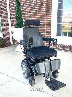 Power wheelchair Quantum edge 2.0 ilevel seat lift tilt recline feet lift