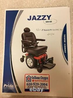 Powered Mobility Chair (300# Capacity) With Charger