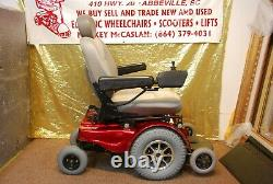 Pride Jazzy 1170 Electric Power Wheelchair Scooter New Batteries & Drive Tires