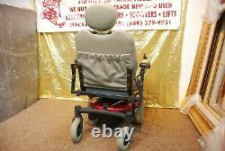 Pride Jazzy Jet 3 Ultra Electric Power Wheelchair Scooter with NEW BATTERIES