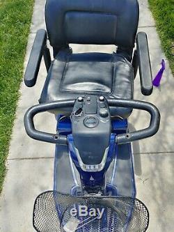 Pride Mobility Celebrity X 3 Wheel Mobility Scooter Used