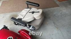 Pride Mobility Product Jazzy Select GT Red Power Chair SCOOTER EXCELlENT MANUAL