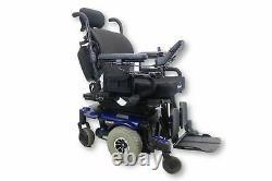 Pride Mobility Quantum Rehab 610 Power Chair Tilt & Power Legs 18x19 Seat
