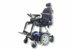 Pride Quantum Q6 Edge Power Chair Seat Elevate & Tilt 17 x 20 Seat