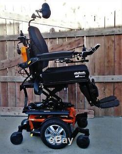 QUANTUM Q6 EDGE 2.0 ILEVEL SEAT LIFT POWER TILT RECLINE POWER LEGS 9 miles