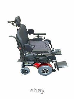 Quantum 1450 Heavy Duty Bariatric Tilt Power Chair 600 Lbs. Limit 28x25