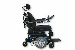 Quantum Q6 Edge Power Chair Tilt & Recline Functions 18 x 19 Seat Mint