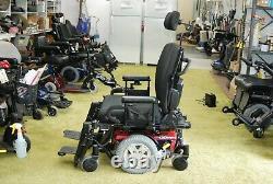 Quantum Q6 Edge Power Wheelchair Scooter with Tilt, Power Legs NEW BATTERIES