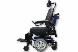 Quantum Q6 Edge Power Wheelchair Seat Elevate, Tilt, Recline & Legs 18x20