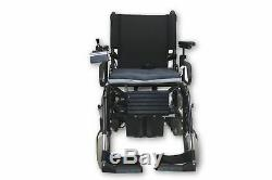 Quickie P-100 Power Chair Removable Leg Rests 17 x 16 Seat 15 Mile Range