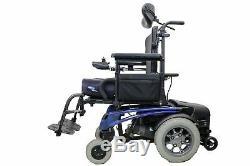 Quickie P-220 Electric Wheelchair Tilt Sunrise Medical 6.5 MPH Max