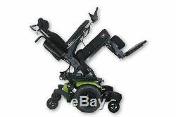 Quickie QM-710 Electric Wheelchair (2014) Tilt, Recline & Legs 20x20 Seat