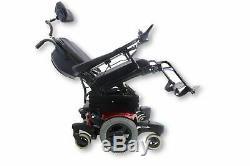 Quickie QM-710 Power Chair Seat Elevate, Tilt & Recline 17 x 20 Seat