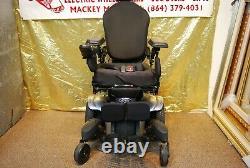 Quickie QM-710 Power Wheelchair Scooter Tilt/Recline/Power Legs NEW BATTERIES //