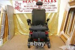 Quickie QM-710 Power Wheelchair Scooter with Power Seat/ Tilt/ Legs/ Attendant
