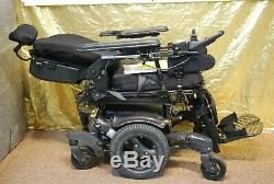 Quickie QM-710 Power Wheelchair Scooter with Tilt/Recline/Power Legs NEW BATTERIES