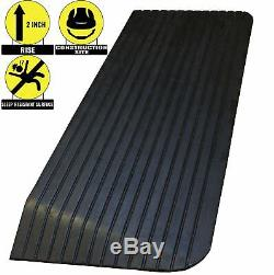 RK Safety RK-RTR Solid Rubber Power Wheel-Chair Scooter Threshold Ramp