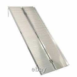 Titan 6' Briefcase Fold Utility Loading Ramp for Wheelchairs Scooters Mobility
