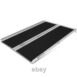 Titan Ramps 4 x 30 Portable Scooter Ramp for Wheelchairs & Powered Chairs