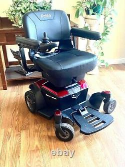 Travel power chair Jazzy Go Chair superb condition mint take this jewel with you