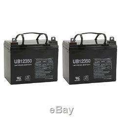 UPG 2 Pack 12V 35AH Bruno Power Chair Scooter Battery