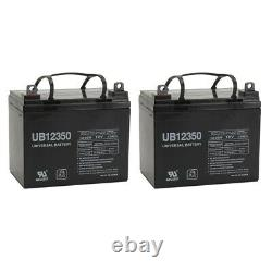 UPG 2 Pack 12V 35AH Jazzy Select GT Power Chair Scooter Battery