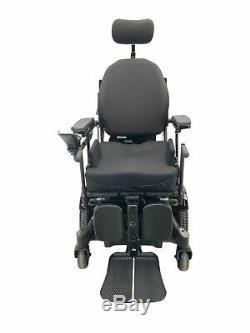 2018 Invacare Tdx Sp 2 Puissance Chaise 18x21 Siège Elevate, En Inclinaison, Jambes