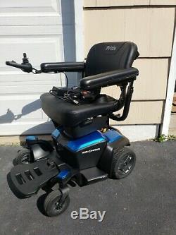 2019 Pride Mobility Go-chair Voyage Électrique Powerchair, Légèrement Utilisé