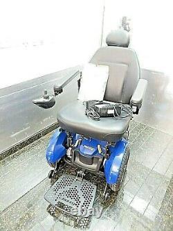 2019 Pride Mobility Jazzy Elite Hd Heavy Duty Fauteuil Roulant Électrique 450lbs 22 Siège