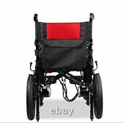 2020 Coffre De Voiture Pliable Amical Mobility Scooter Électrique Fauteuils Roulants Rouge