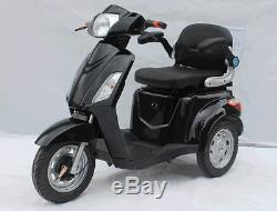 2020 Emoto USA Electric Scooter 600w 60v Mobilité Tricycle Fauteuil Roulant 16 Mph