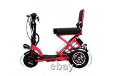 2020 Foldable Electric Scooter Wheel Folding Portable Travel Home Mobility Nouveau