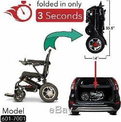 2020 Modèle Fold Voyage Léger Heavy Duty Electric Power Scooter Fauteuil Roulant