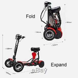 2020 Pliable Mobility Scooters Approuvé Par La Fda Cadre Forte Puissance Scooter
