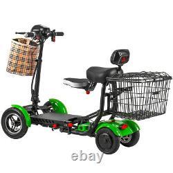 2021 Foldable Lightweight Power Mobility Scooters Fauteuil Roulant Électrique