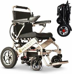 2021 Modèle Fold Travel Lightweight Heavy Duty Electric Power Scooter Fauteuil Roulant