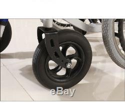 22 'scooter Électrique Manuel Pliant De Mobilité De Fauteuil Roulant De Dual Motors