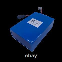 24v 24ah 750w Batterie Ebike Lithium Lifepo4 Charger Scooter Fauteuil Roulant Électrique