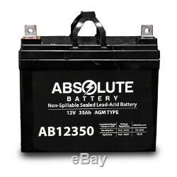 2pqt 12v 35ah Batterie Pour Fierté Boxster Celebrity 2000 X Puissance Président Scooter