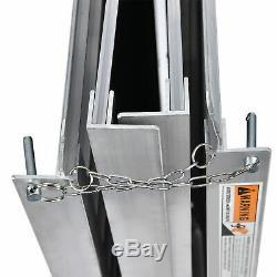 3/5/6/7/8 Pieds En Fauteuil Roulant En Aluminium Portable Rampe Antidérapante Mobilité Porteuse Scooter