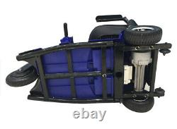 3 Wheeled Mobility Scooter Electric Powered Wheelchair Device Compact Pour Les Voyages