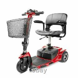 3-wheel Mobility Scooter Electric Powered Wheelchair Device Folding W3331