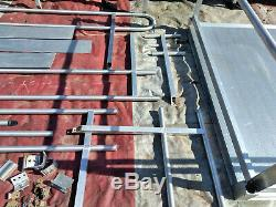34' Plates-formes With2 + Extras Fauteuil Roulant Rampe Ez Access Aluminium Scooter Handicap