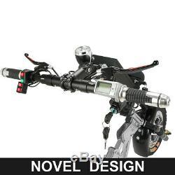 350w Électrique Kit De Conversion En Fauteuil Roulant Vélo À Main + 10ah Batterie Scooter Mobilité