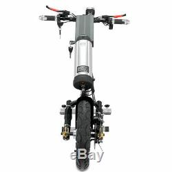 36v / 10ah 350w Connectable Électrique Scooter Handbike Vélo À Main En Fauteuil Roulant Nouveau